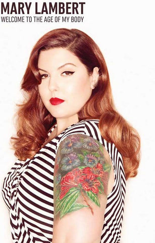 Mary Lambert Welcome to the Age of My Body Music Poster 11x17