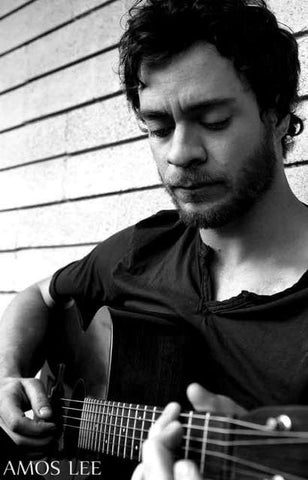 Amos Lee Portrait Poster