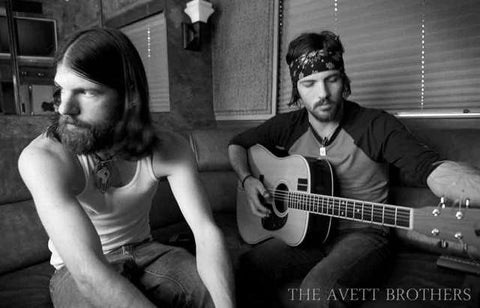 Avett Brothers Band Poster