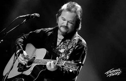 Travis Tritt Live on Stage Portrait Music Poster 11x17