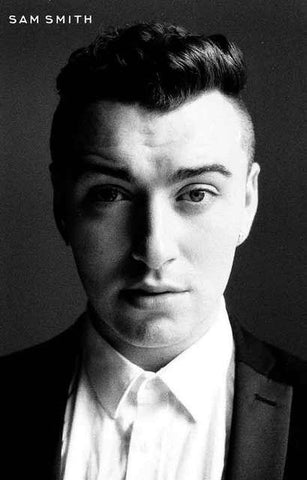 Sam Smith Portrait Poster