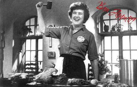 Julia Child Portrait Poster