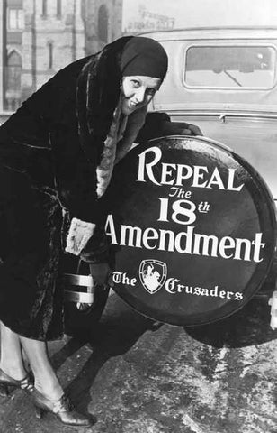 Repeal the 18th Amendment Anti-Prohibition Poster