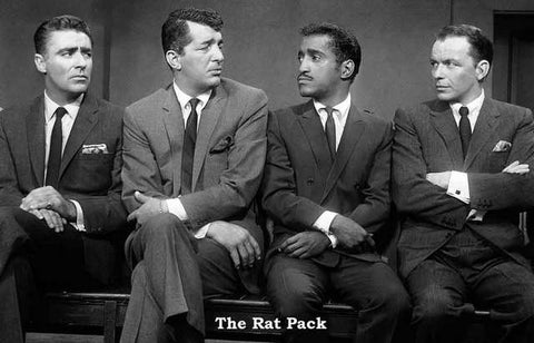 Rat Pack Portrait Poster