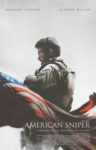 American Sniper Movie Poster 11x17