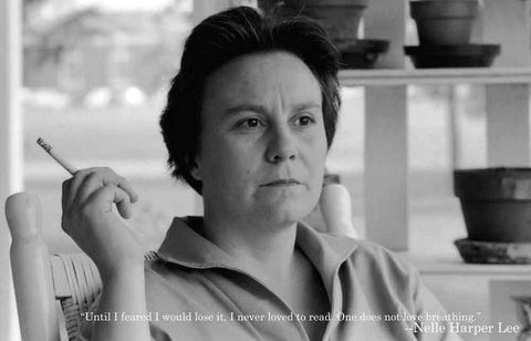 Harper Lee Portrait Poster
