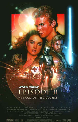Star Wars Attack of the Clones Poster