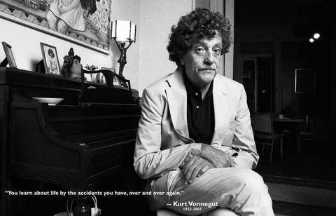 Kurt Vonnegut Quote Poster