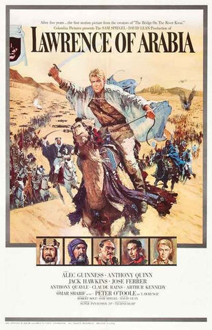 Lawrence of Arabia Movie Poster 11x17