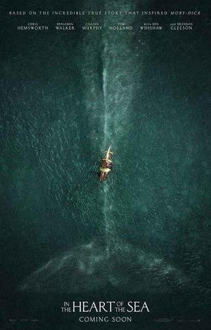 In the Heart of the Sea Movie Poster 11x17