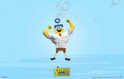 Spongebob Squarepants Movie Poster 11x17