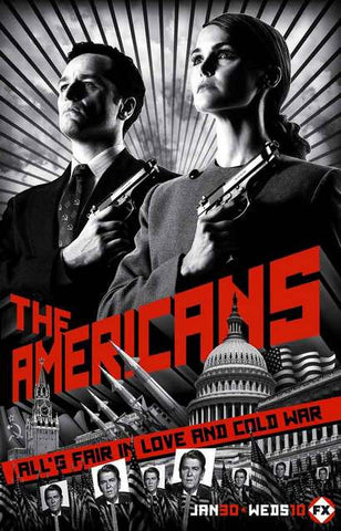 The Americans Season 1 Poster 11x17