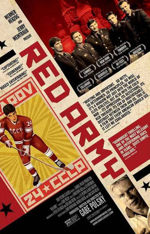 Red Army Hockey Documentary Movie Poster 11x17
