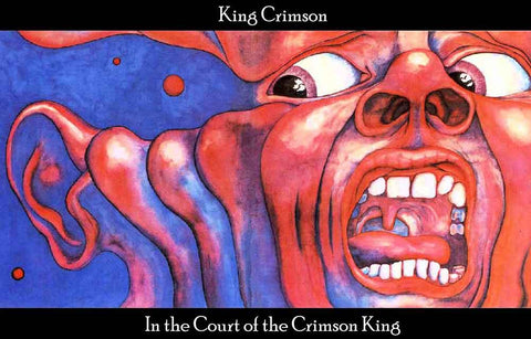King Crimson Band Poster