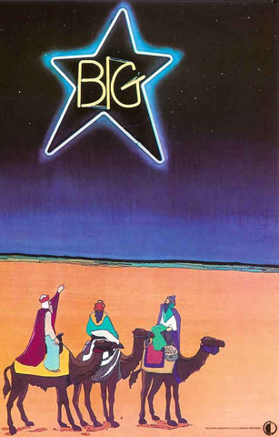 Big Star Band Poster