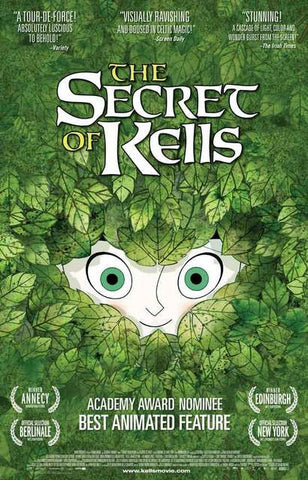 Secret of Kells Movie Poster