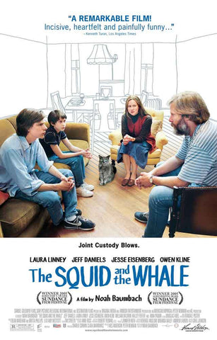 The Squid and The Whale Movie Poster 11x17
