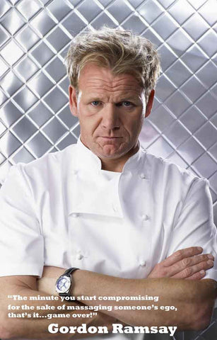 Chef Gordon Ramsay Poster