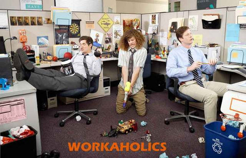 Workaholics TV Show Poster