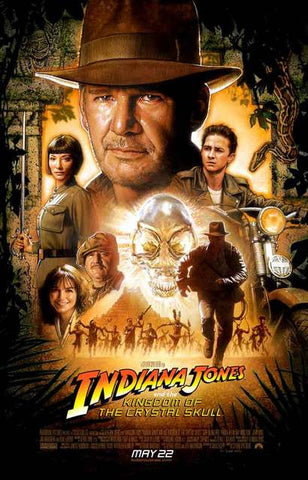Indiana Jones Movie Poster