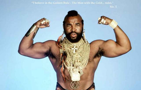 Mr T Quote Poster