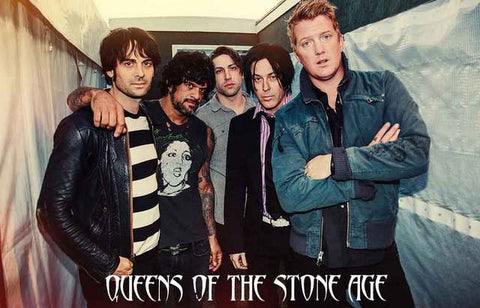 Queens of the Stone Age Band Poster