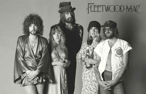 Fleetwood Mac Band Poster