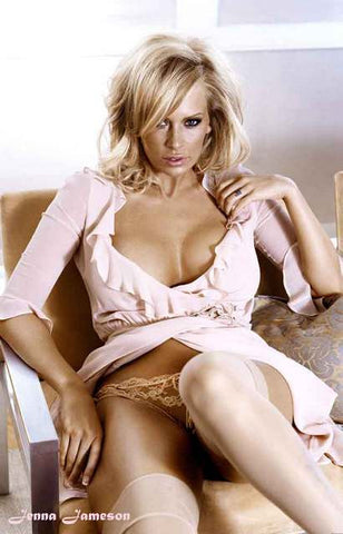 Jenna Jameson Pretty in Pink Poster 11x17