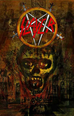 Slayer Band Poster