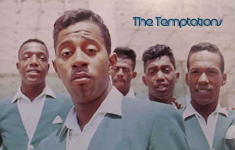 The Temptations Band Poster