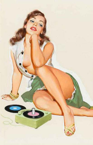 Pin-Up Girl Poster