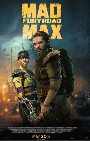 Mad Max Fury Road Movie Poster 11x17