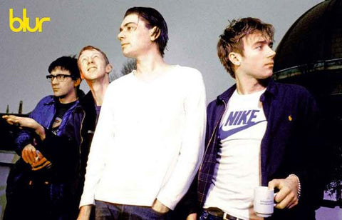 Blur Band Poster