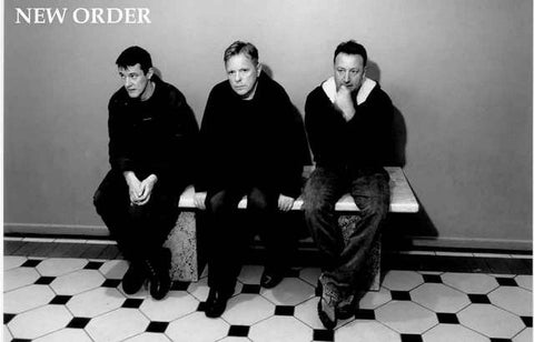 New Order Band Poster