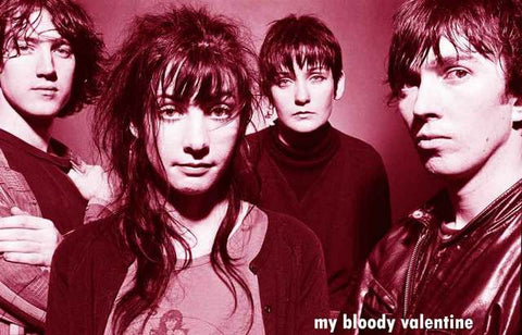 My Bloody Valentine Band Poster