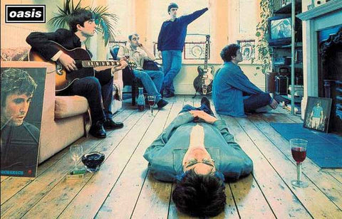 Oasis Definitely Maybe Poster