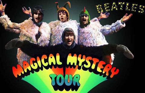 The Beatles Magical Mystery Tour Poster 11x17