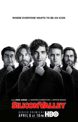 Silicon Valley TV Show Cast Poster 11x17