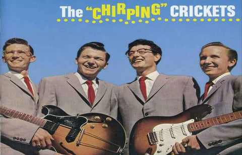 Buddy Holly and the Crickets Album Cover Poster 11x17