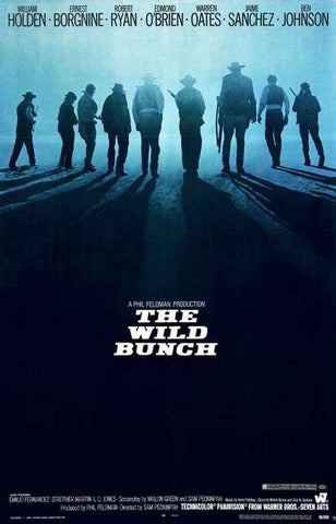 The Wild Bunch Movie Poster 11x17
