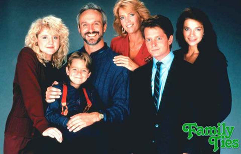 Family Ties TV Show Poster