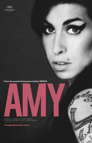 Amy Winehouse Documentary Movie Poster