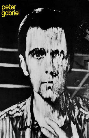 Peter Gabriel Album Cover Poster
