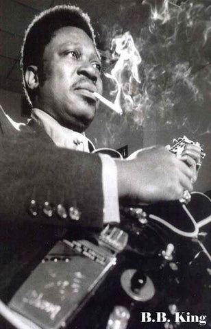 BB King Portrait Poster