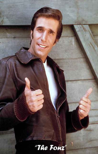 The Fonz Happy Days Fonzie Poster 11x17 – BananaRoad
