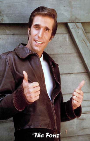 The Fonz Happy Days Fonzie Poster 11x17