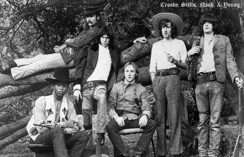 CSNY Band Poster