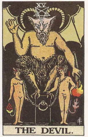 The Devil Tarot Card Poster