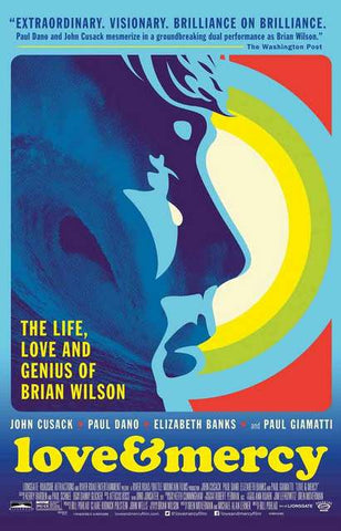 Love and Mercy Brian Wilson Movie Poster 11x17