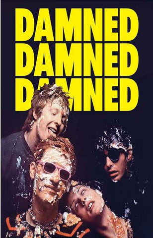 The Damned Band Portrait Poster 11x17